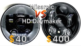 Daymaker/Wisamic Headlight Install/Comparison