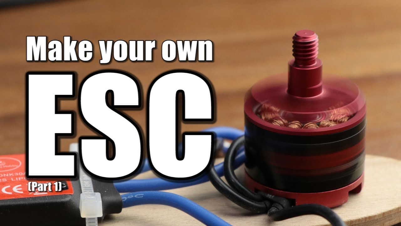 Make your own ESC || BLDC Motor Driver (Part 1)