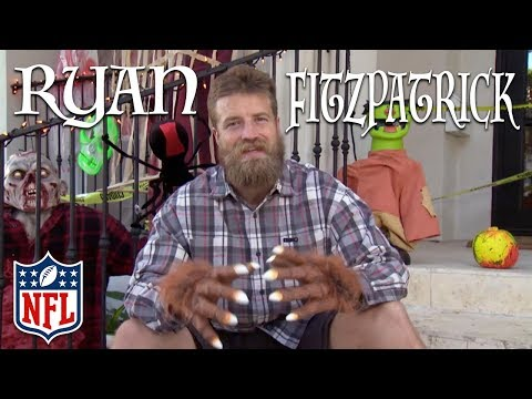 Throwback To Ryan Fitzpatrick's Houston Halloween Haunted House | TBT | NFL Rush