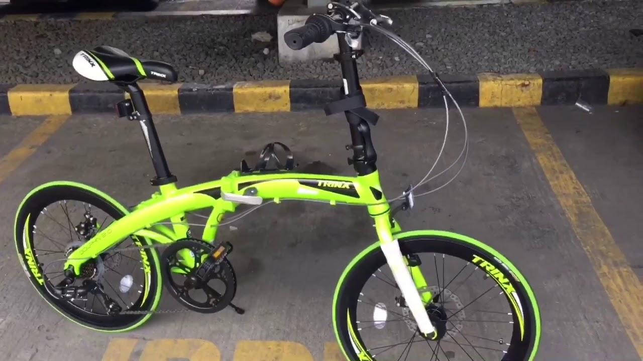 Trinx Dolphin 2 0 Folding Bike Sablay Review Youtube
