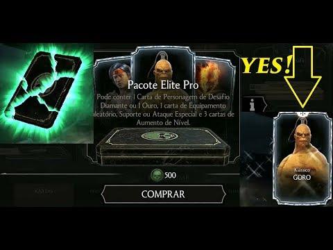 Mortal Kombat X - Comprando Pacote Elite Pro thumbnail