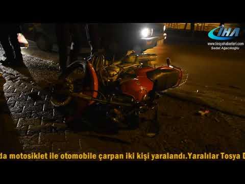 SAKARYA OKULU KARŞISI MOTOSİKLET KAZASI...