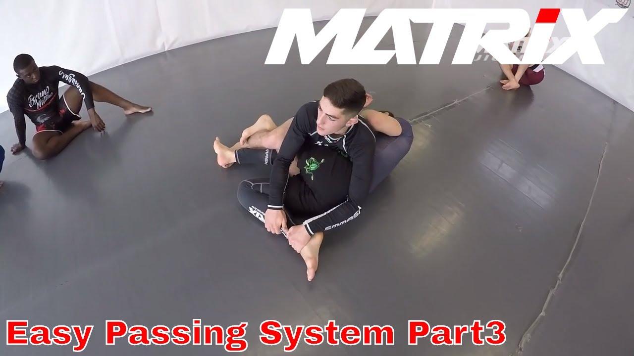 Easy and effective Jiu Jitsu Guardpassing System - ADCC Mini Seminar by Bruno Amaddeo - Part 3