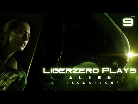 Ligerzero Plays Alien: Isolation - The Quest for the Operating Room (Episode 9)