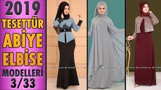 #Modaselvim 2019 Tesettür Abiye Modelleri 3/33 | #Hijab Evening Dress | #tesettür #abiye #dress