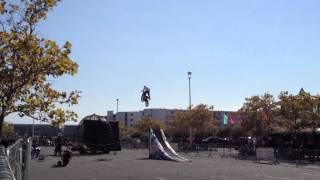 2012 Ocean City Bike Week - Crazy Dirt Bike Jumping Motocross Style