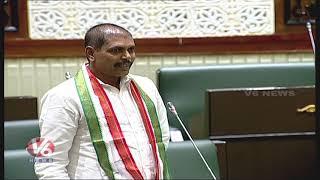Jajala Surender Speech About Speaker Pocharam | Telangana Assembly 2019 | V6 News