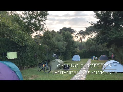Cycling Europe 2019: Santander To San Vicente De La Barquera