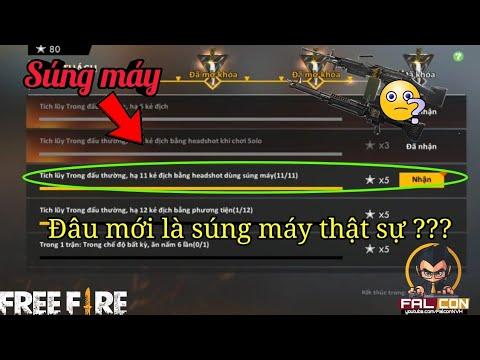 FREE FIRE   Đâu mới thật sự là súng máy?   Falcon   Tổng hợp các tài liệu về súng máy trong free fire là súng j mới cập nhật