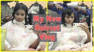 My New Haircut & Makeup Haul Vlog - Sunday Fun   Indian Mom on Duty Hairstyle