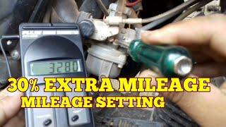 Mileage setting 30% mileage increase used pulse engine tachometer TVS Star city