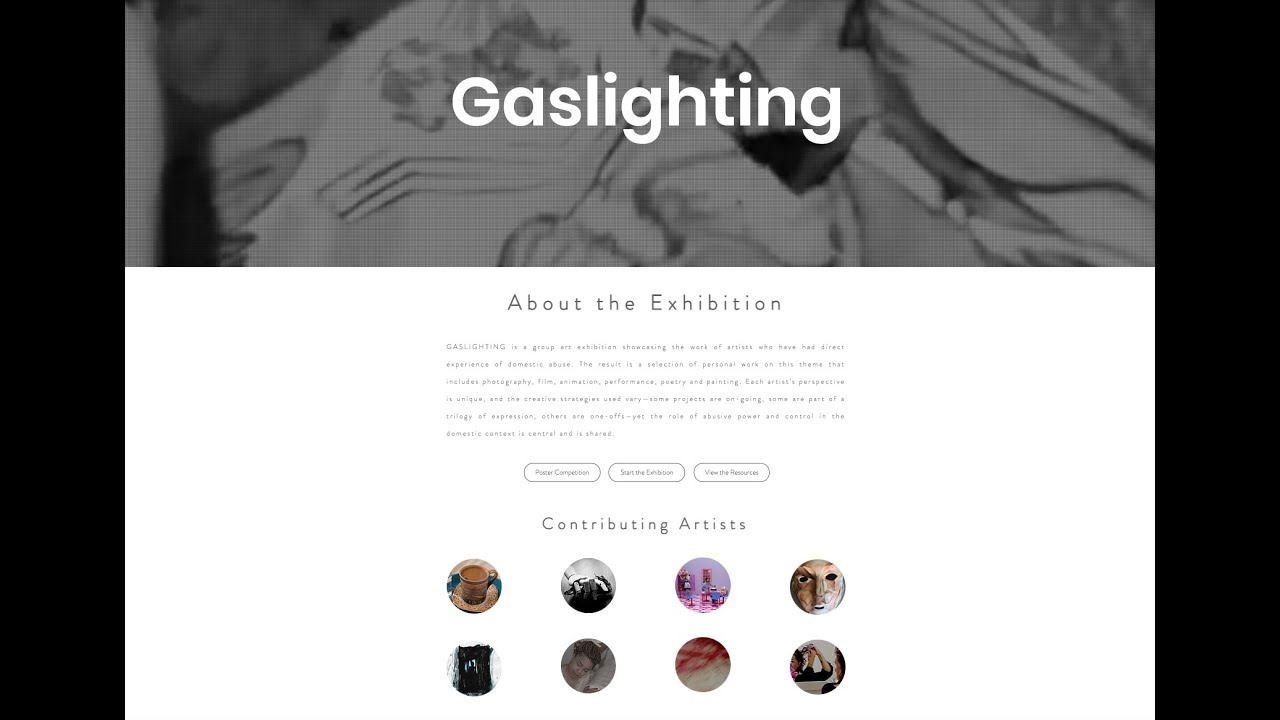 Gaslighting Opening Event