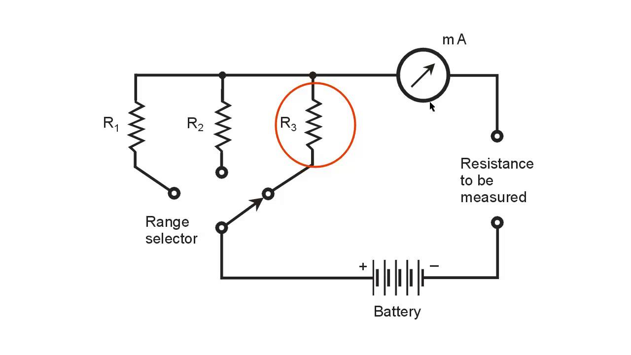 Ohmmeter Circuit Symbol Choice Image - meaning of text symbols