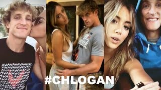 ❤Logan Paul and Chloe Bennet Cute Moments❤ #CHLOGAN