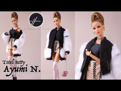 Integrity Toys: Total Betty Ayumi N. REVIEW