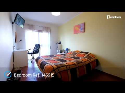 Comfortable double bedroom in São Martinho de Bispo