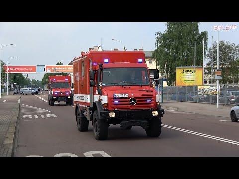 [Explosion im Kraftwerk] Große MANV-Übung in Halle (Saale)
