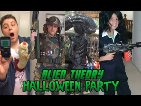 Alien Theory Halloween Party 2017