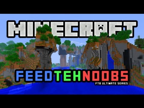 "Minecraft FTB: Feed Teh Noobs with Wolv21 & Luclin - E5 ""Move Time"""
