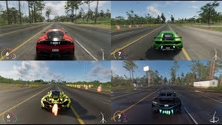 The Crew 2 | All Hyper car Top speed Fully Upgrade & Double Nitro