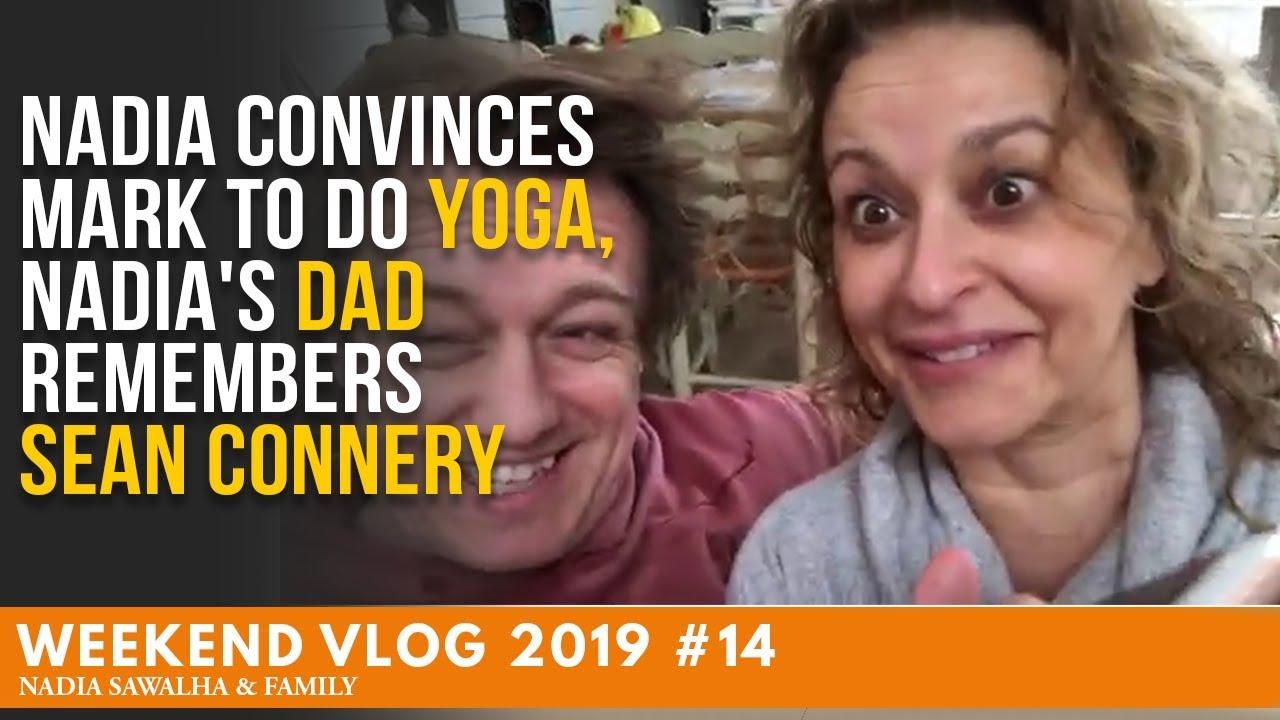 9eddcf976b82 Weekend Vlog  14 - Nadia CONVINCES Mark to do YOGA