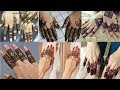 Latest & Beautiful Mehendi Fingers Design Collection For Girls 2018