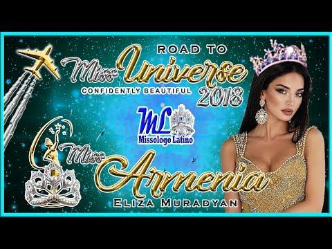 Miss Universe Armenia 2018 - Eliza Muradyan - Road To MU 2018