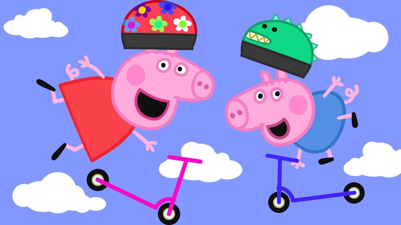 Peppa Pig Official Channel Peppa Pig Is The Scooter Expert