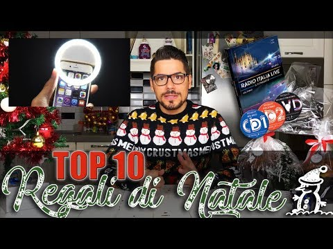 Radio Italia- TOP 10 REGALI DI NATALE 2017 - Christian Sanchini