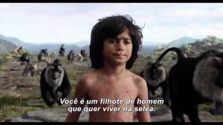 Mogli: O Menino Lobo - Trailer #2 Legendado