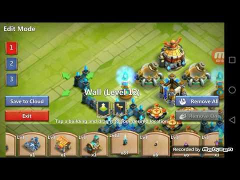 Castle Clash  Base#ep. 1 (TH13)