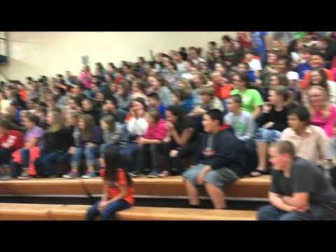 3 Count Wrestling Pep Rally at Pickens Middle School