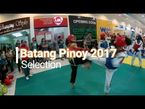 Taekwondo Philippines - TKD selection 'Batang Pinoy' 2017 at Waltermart Cabuyao Laguna Philippines
