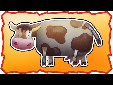 Мультфильм про корову и поросенка