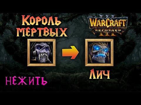 Warcraft 3 Reforged русская озвучка  героев Нежить