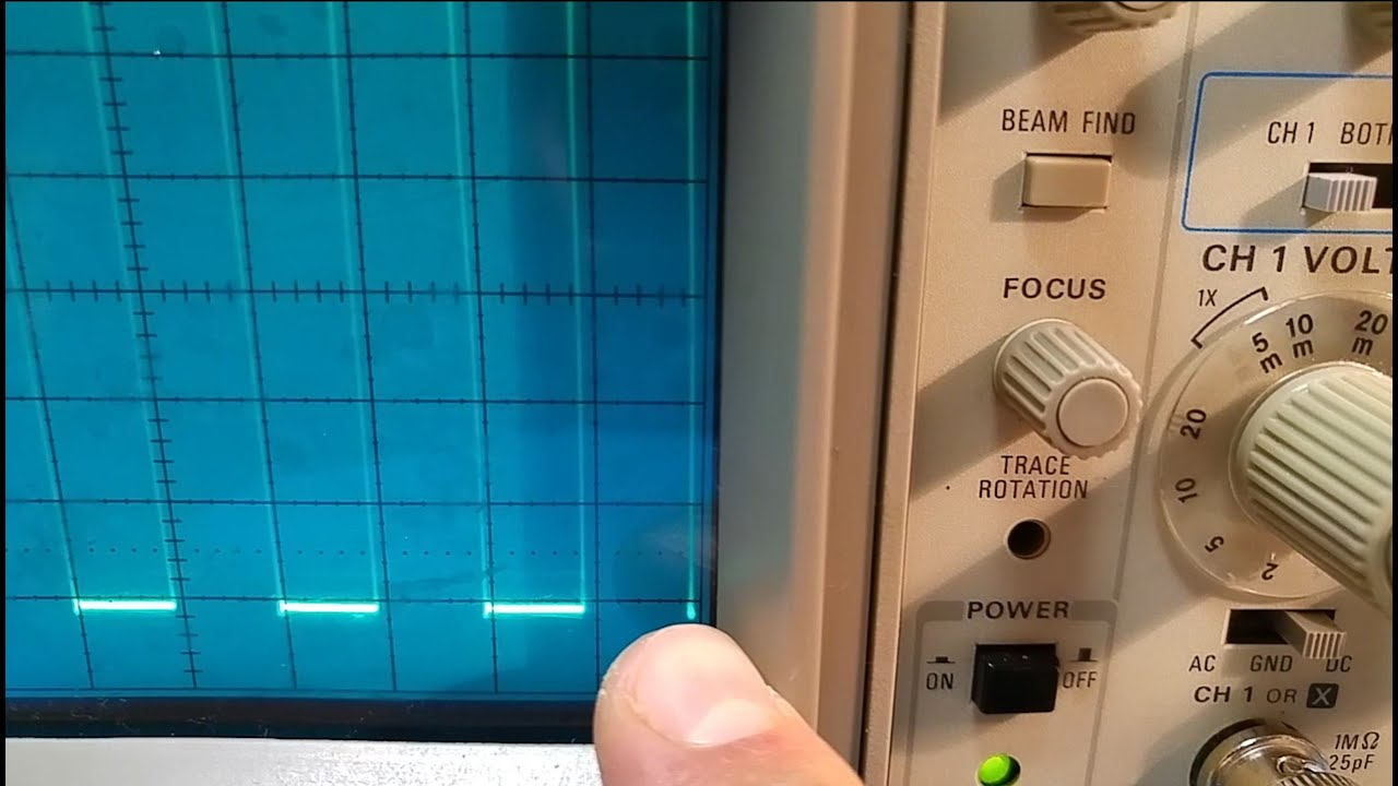 mancave 004 tektronix 2201 oscilloscope calibration after repair rh youtube com tektronix 2201 service manual Tektronix Website