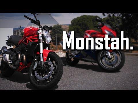 La Ducati MONSTER 821 limitada de Juanma