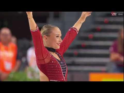 Rebecca Tarlazzi World Champion - Free Program - Senior ladies - World roller games Barcelona 2019