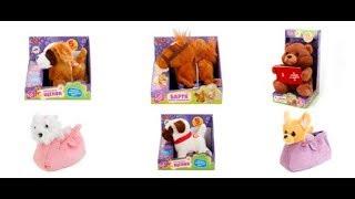 Обзор, интерактивные мягкие игрушки для детей