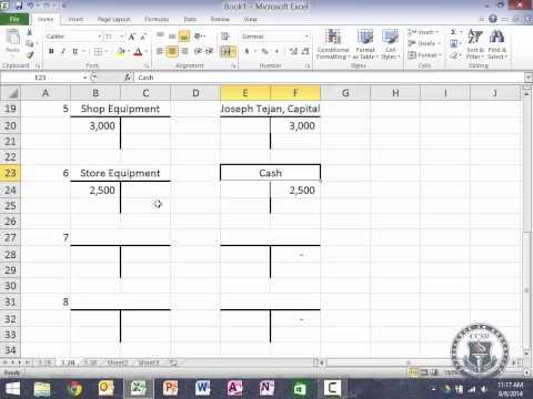 ACC101 - Week 2 - Chapter 3 - Homework