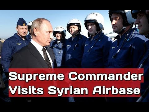 LIKE A BOSS: Putin Congratulates Russian Pilots on Their Successful Mission in Syria