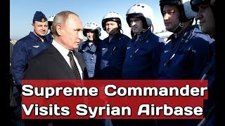 THE BOSS: Putin Congratulates Russian Pilots on Their Successful Mission in Syria