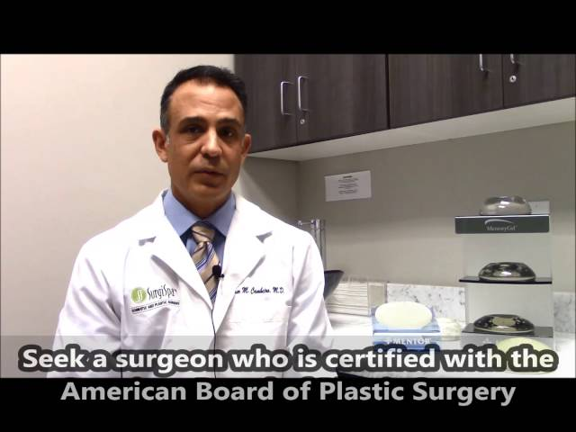 SurgiSpa MYTH v.s. FACT - Surgeon Board Certifications