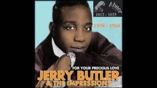 Jerry Butler & The  Impressions - Abner 45 RPM Records - 1958 - 1960