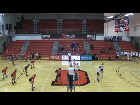 DCC volleyball VS North Dakota State College of Science