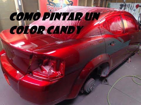 CMO HACER UN TRABAJO DE PINTURA CANDY