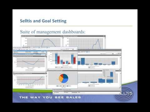 Selltis webinar: Using Goal Tracker to monitor and improve sales performance