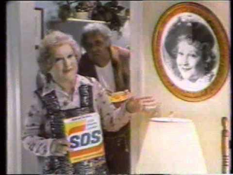 Estelle Harris 1986 SOS Pads Commercial
