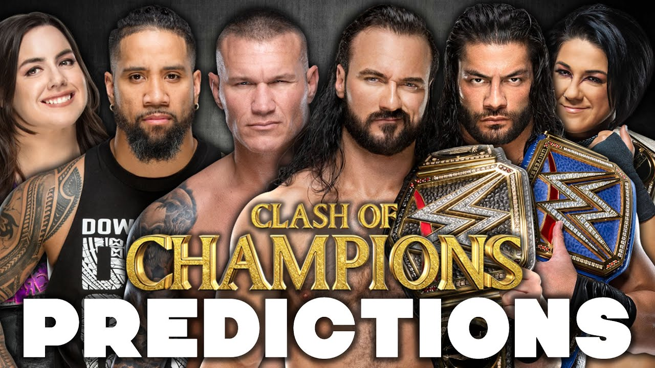 Download WWE Clash Of Champions 2020 Predictions