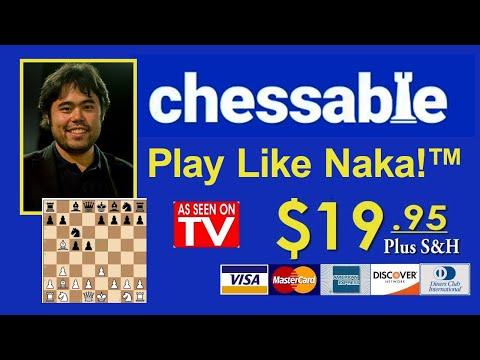 Paying $19.95 to Play Like Naka! Chessable Tutorial and Demo